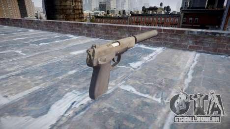 Arma QSZ-92 silenciador para GTA 4 segundo screenshot