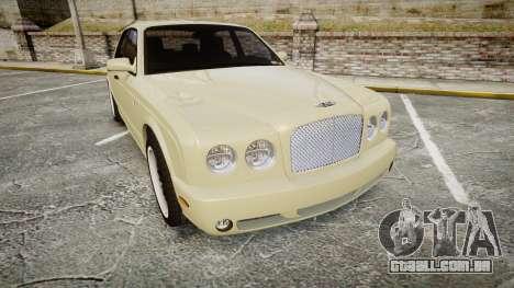 Bentley Arnage T 2005 Rims1 Black para GTA 4