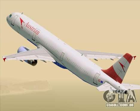 Airbus A321-200 Austrian Airlines para GTA San Andreas