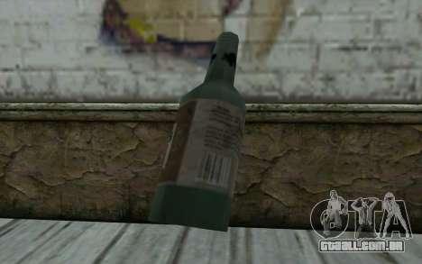 Uma garrafa de cerveja para GTA San Andreas