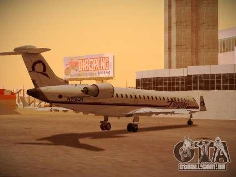 Bombardier CRJ-700 Horizon Air para GTA San Andreas vista superior