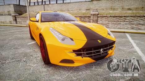 Ferrari FF 2012 Pininfarina Yellow para GTA 4