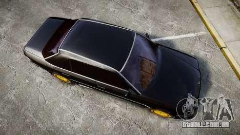 Mercedes-Benz E500 1998 Tuned Wheel Gold para GTA 4 vista direita