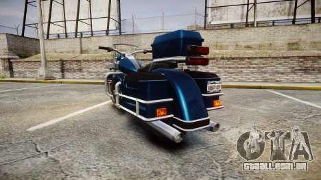 Western Sovereign para GTA 4 traseira esquerda vista