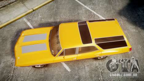 Oldsmobile Vista Cruiser 1972 Rims2 Tree3 para GTA 4 vista direita
