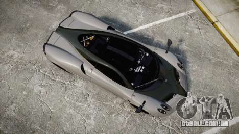Pagani Huayra 2013 Carbon para GTA 4 vista direita