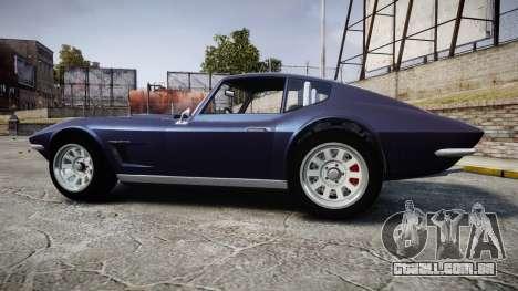 GTA V Invetero Coquette Classic para GTA 4 esquerda vista