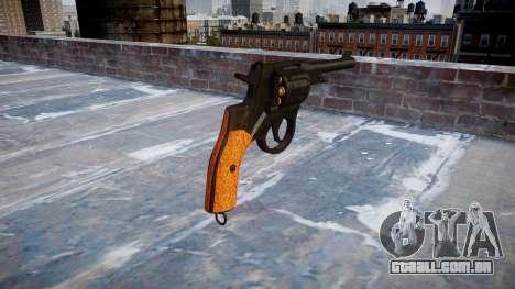 O Revólver Nagant M1895 para GTA 4 segundo screenshot