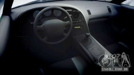 Toyota Supra para GTA 4 vista de volta