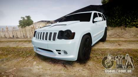 Jeep Grand Cherokee SRT8 stock para GTA 4