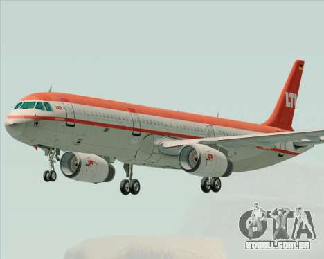 Airbus A321-200 LTU International para GTA San Andreas