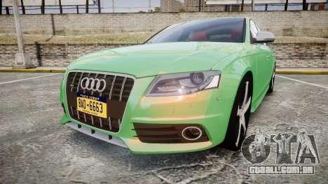 Audi S4 2010 FF Edition para GTA 4