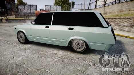 VAZ-2104 hooligan Azerbaijani velho estilo para GTA 4 esquerda vista