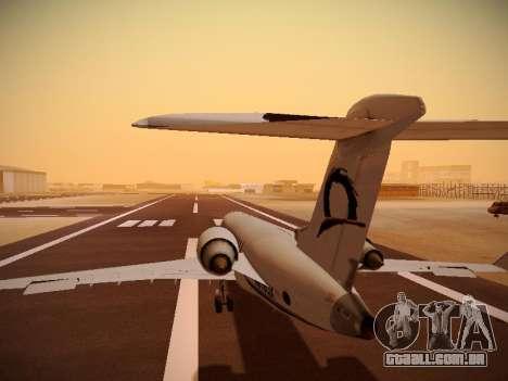 Bombardier CRJ-700 Horizon Air para GTA San Andreas interior