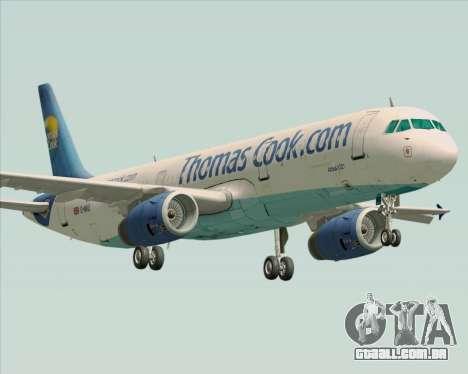 Airbus A321-200 Thomas Cook Airlines para GTA San Andreas