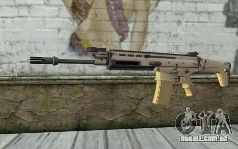 MK 16 SCAR para GTA San Andreas