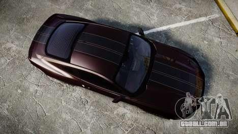 Ford Mustang GT para GTA 4 vista direita