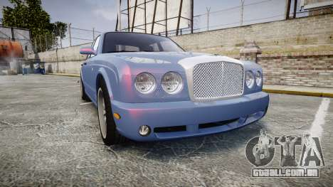 Bentley Arnage T 2005 Rims2 Black para GTA 4