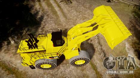 Caterpillar 994F para GTA 4 vista direita