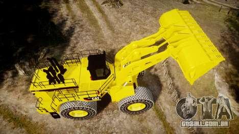 Caterpillar 994F para GTA 4 vista direita