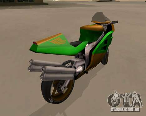 NRG-500 Winged Edition V.1 para GTA San Andreas vista direita