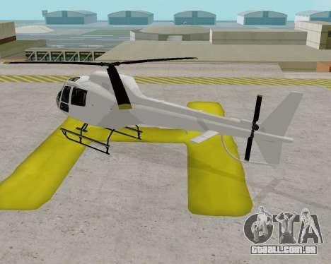Buckingham Maverick V1.0 para GTA San Andreas traseira esquerda vista