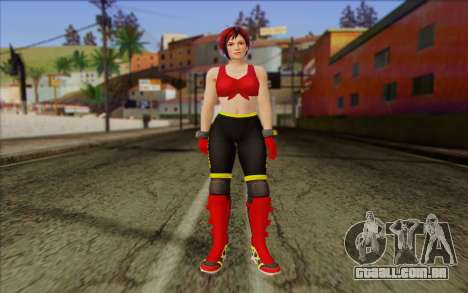 Mila 2Wave from Dead or Alive v7 para GTA San Andreas