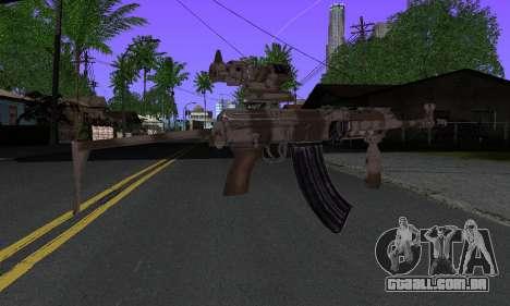 Sa-58V ACOG para GTA San Andreas segunda tela