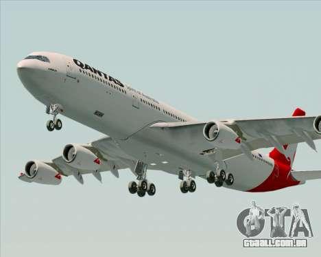 Airbus A340-300 Qantas para o motor de GTA San Andreas