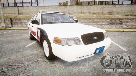 Ford Crown Victoria LC Sheriff [ELS] para GTA 4