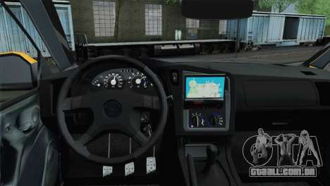 Opel Astra G Caravan para GTA San Andreas traseira esquerda vista