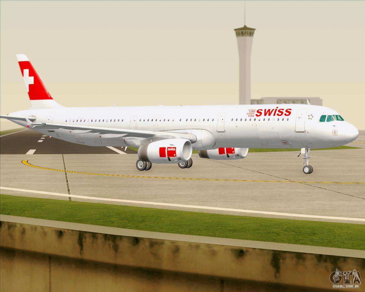airbus a321 200 swiss international air lines para gta san. Black Bedroom Furniture Sets. Home Design Ideas