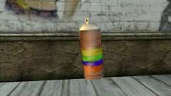 Spray Can from Beta Version para GTA San Andreas