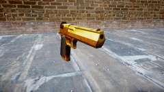 Arma de IMI Desert Eagle Mk XIX Ouro