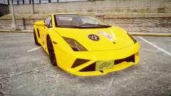 Lamborghini Gallardo 2013 HDD Honoka Kousaka para GTA 4