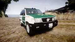 Toyota Land Cruiser Guardia Civil Cops [ELS] para GTA 4