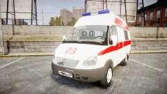 GÁS-32214 Ambulância