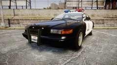 Vapid Police Cruiser MX7000
