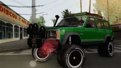 Jeep Cherokee 1998 Off Road 4x4 para GTA San Andreas