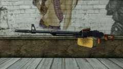 A Metralhadora Kalashnikov Modernizado