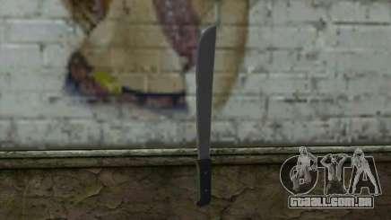 Machete (DayZ Standalone) v2 para GTA San Andreas