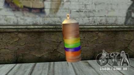Spray Can from Beta Version para GTA San Andreas