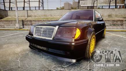 Mercedes-Benz E500 1998 Tuned Wheel Gold para GTA 4