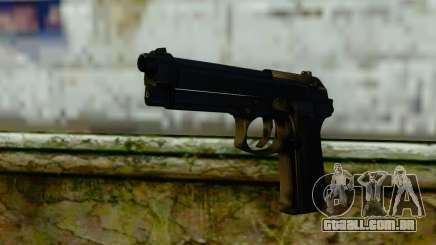 Beretta M9 para GTA San Andreas