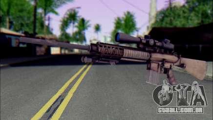 M110 com uma Ótica visão para GTA San Andreas