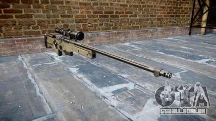 Rifle de precisão L96A1 Magnum para GTA 4