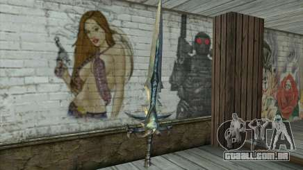 Sword from World Of Warcraft-Frostmourne para GTA San Andreas