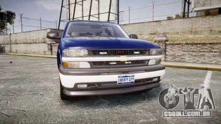 Chevrolet Suburban Undercover 2003 Grey Rims para GTA 4