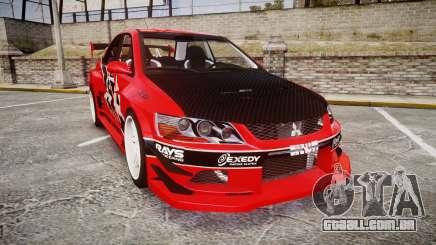 Mitsubishi Lancer Evolution IX Fast and Furious para GTA 4
