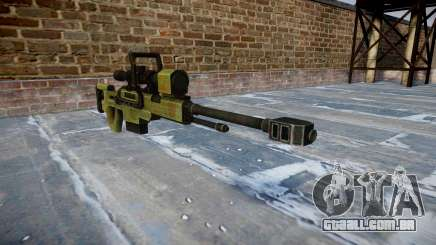 Grande calibre sniper rifle para GTA 4